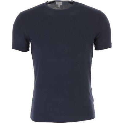 EMPORIO ARMANI Emporio Armani T-Shirts für Herren, T'Shirts Günstig im Outlet Sale, Nachtblau, Viskose, 2017, S S