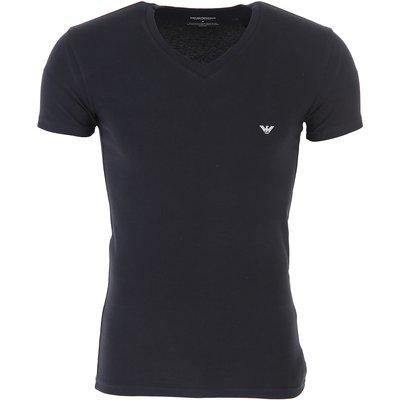 EMPORIO ARMANI Emporio Armani T-Shirts für Herren, T'Shirts Günstig im Sale, Schwarz, Baumwolle, 2017, S XL