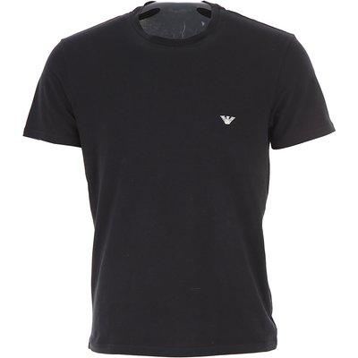 EMPORIO ARMANI Emporio Armani T-Shirts für Herren, T'Shirts Günstig im Sale, Schwarz, Baumwolle, 2017, L S