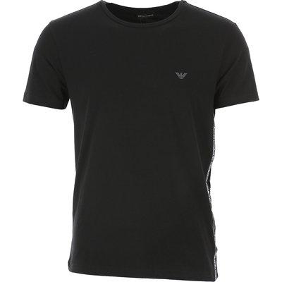 EMPORIO ARMANI Emporio Armani T-Shirts für Herren, T'Shirts Günstig im Sale, Schwarz, Baumwolle, 2017, M S
