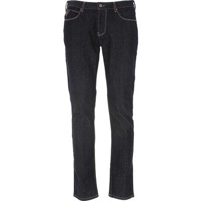 EMPORIO ARMANI Emporio Armani Jeans, Bluejeans, Denim Jeans für Herren Günstig im Sale, Denim Blau, Baumwolle, 2017, 46 48 49 50