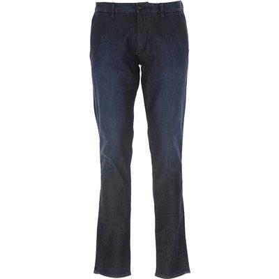 EMPORIO ARMANI Emporio Armani Jeans, Bluejeans, Denim Jeans für Herren Günstig im Sale, Dunkles Denim Blau, Baumwolle, 2017, 46 48 50 52 54