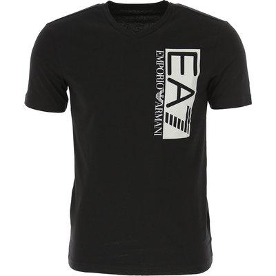EMPORIO ARMANI Emporio Armani T-Shirts für Herren, T'Shirts Günstig im Sale, Schwarz, Baumwolle, 2017, M XL