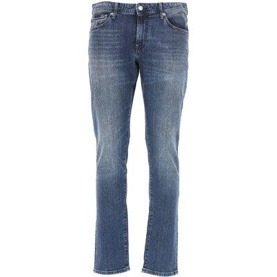 EMPORIO ARMANI Emporio Armani Jeans, Bluejeans, Denim Jeans für Herren Günstig im Sale, Indigo Denim, Baumwolle, 2017, 45 46 47 48 49 50