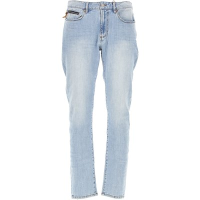 EMPORIO ARMANI Emporio Armani Jeans, Bluejeans, Denim Jeans für Herren Günstig im Sale, Hellblaue Jeans, Baumwolle, 2017, 45 46 47 48 49 50 52
