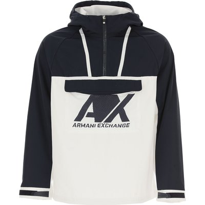 EMPORIO ARMANI Emporio Armani Daunenjacke für Herren, wattierte Ski Jacke Günstig im Sale, Weiss, Polyester, 2017, L M XL
