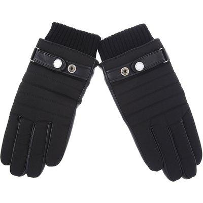 Emporio Armani Handschuhe, Schwarz, Leder