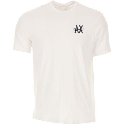 Emporio Armani T-Shirts  T'Shirts, Weiss, Baumwolle