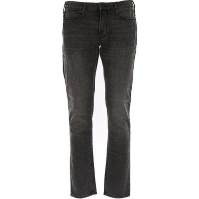 EMPORIO ARMANI Emporio Armani Jeans, Bluejeans, Denim Jeans für Herren Günstig im Outlet Sale, Grau, Baumwolle, 2017, 46 49