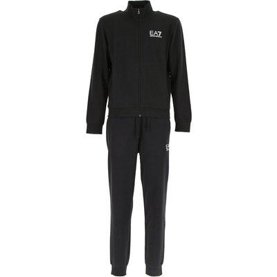 EMPORIO ARMANI Emporio Armani Sportbekleidung für Herren, Sport Kleidung, Sport Mode Günstig im Outlet Sale, Schwarz, Baumwolle, 2017, S XXL