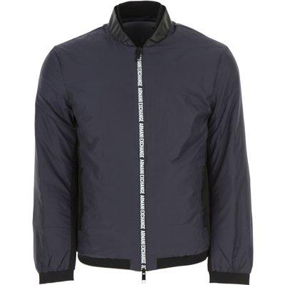 EMPORIO ARMANI Emporio Armani Daunenjacke für Herren, wattierte Ski Jacke Günstig im Sale, Blau, Polyester, 2017, L S XL