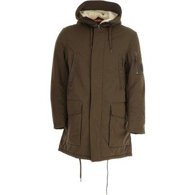 EMPORIO ARMANI Emporio Armani Jacke für Herren Günstig im Outlet Sale, Schlamm Braun, Polyester, 2017, M XL