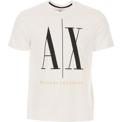 EMPORIO ARMANI Emporio Armani T-Shirts für Herren, T'Shirts Günstig im Sale, Weiss, Baumwolle, 2017, S XS