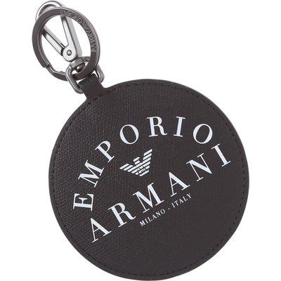 Emporio Armani Schlüsselanhänger  Schlüsselring, Schlüsselkette, Schwarz