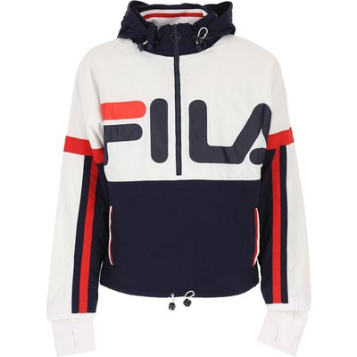 FILA FIla Daunenjacke für Herren, wattierte Ski Jacke Günstig im Sale, Weiss, Nylon, 2017, L S