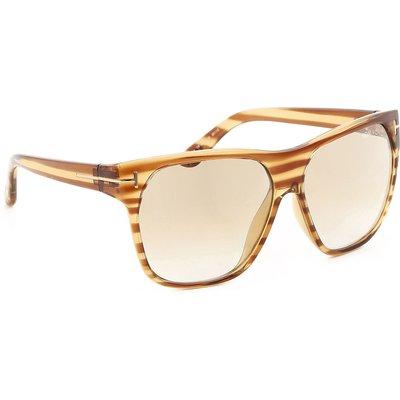 Tom Ford Sonnenbrillen Günstig im Outlet Sale, Braun gestreift, 2017