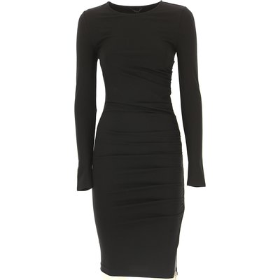 GUESS Guess Kleid für Damen Günstig im Sale, Schwarz, Viskose, 2017, 44 M