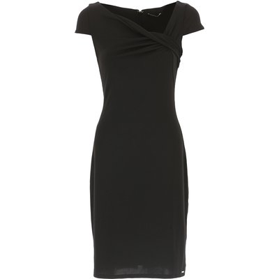 GUESS Guess Kleid für Damen Günstig im Sale, Schwarz, Polyester, 2017, 38 40 M