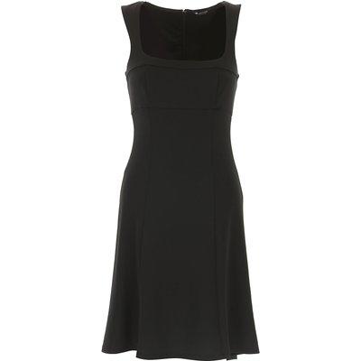 GUESS Guess Kleid für Damen Günstig im Sale, Schwarz, Polyester, 2017, 38 M