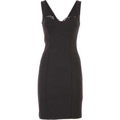 GUESS Guess Kleid für Damen Günstig im Sale, Schwarz, Polyester, 2017, 38 40
