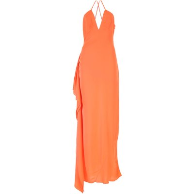GUESS Guess Kleid für Damen Günstig im Sale, Hell Orangefarben, Viskose, 2017, 40 M