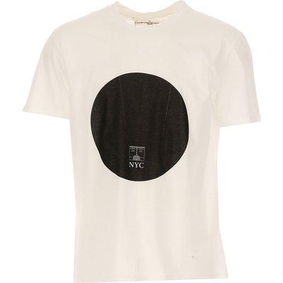 GOLDEN GOOSE Golden Goose T-Shirts für Herren, T'Shirts Günstig im Outlet Sale, Weiss, Baumwolle, 2017, S XL