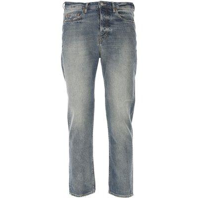 GOLDEN GOOSE Golden Goose Jeans, Bluejeans, Denim Jeans für Herren Günstig im Outlet Sale, Happy, Hellblau Denim, Baumwolle, 2017, 44 46 46 47 48