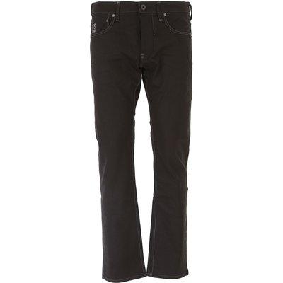 G-STAR G-Star Jeans, Bluejeans, Denim Jeans für Herren Günstig im Outlet Sale, Schwarz Denim, Baumwolle, 2017, 45 46 47