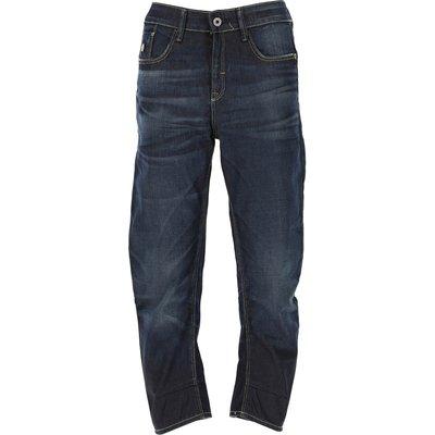 G-STAR G-Star Jeans, Bluejeans, Denim Jeans für Damen Günstig im Outlet Sale, Dunkles Denim Blau, Baumwolle, 2017, 41 42
