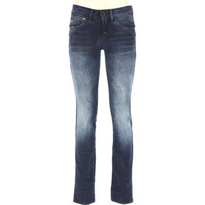 G-STAR G-Star Jeans, Bluejeans, Denim Jeans für Damen Günstig im Outlet Sale, Denim Blau, Baumwolle, 2017, 40 41
