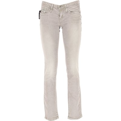 G-STAR G-Star Jeans, Bluejeans, Denim Jeans für Damen Günstig im Outlet Sale, Grau, Baumwolle, 2017, 42 44 45