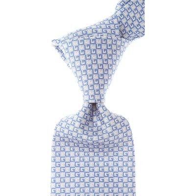 Gucci Krawatten, Aschgrau, Seide