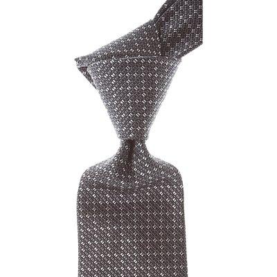 Gucci Krawatten, Schwarz, Seide