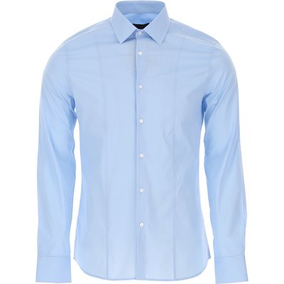 Guess Hemde  Oberhemd, Himmelblau, Baumwolle