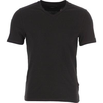 Guess T-Shirts  T'Shirts, Schwarz, Baumwolle