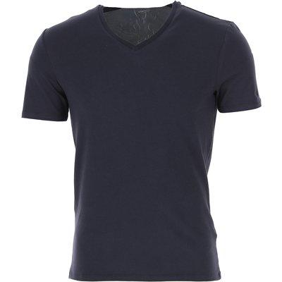 GUESS Guess T-Shirts für Herren, T'Shirts Günstig im Sale, Nachtblau, Baumwolle, 2017, M XL