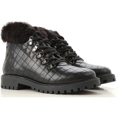 GUESS Guess Stiefel für Damen, Stiefeletten, Bootie, Boots Günstig im Outlet Sale, Schwarz, Leder, 2017, 36 38 39