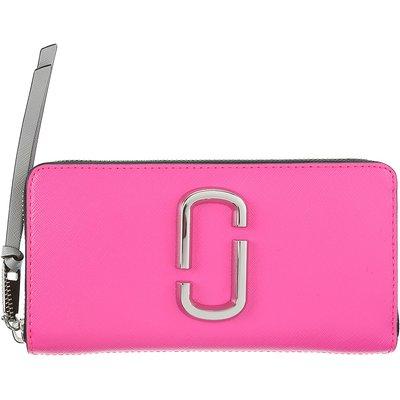 MARC JACOBS Marc Jacobs Brieftasche für Damen, Portemonnaie, Geldbörsen, Geldbeutel Günstig im Sale, Leuchtend Pink, Leder, 2017