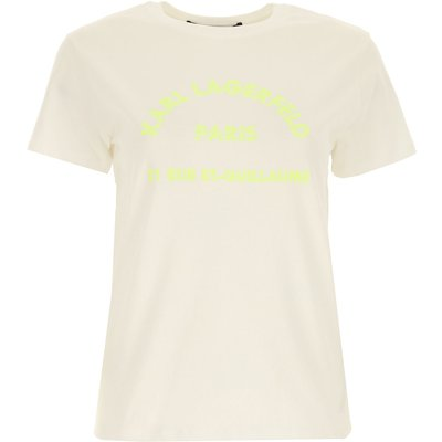 Karl Lagerfeld T-Shirts  T'Shirts, Weiss, Baumwolle