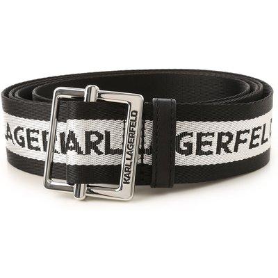 Karl Lagerfeld Gürtel, Schwarz, Polyamid