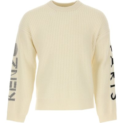 Kenzo Pullover  Pulli, Weiss, Wolle
