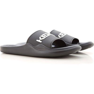 Kenzo Flip Flops  Flip-Flops, Schwarz, Gummi