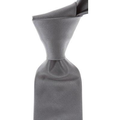 Kenzo Krawatten, Graphit Grau, Seide