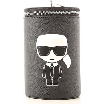 Karl Lagerfeld Tasche, Schwarz, Leder