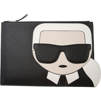 Karl Lagerfeld Tasche, Schwarz, Polyurethan