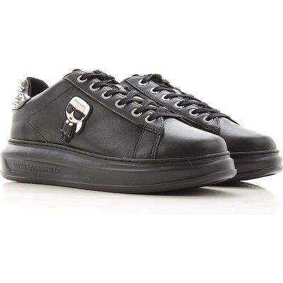 Karl Lagerfeld Sneaker  Tennisschuh, Turnschuh, Schwarz