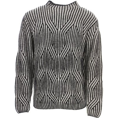 Karl Lagerfeld Pullover  Pulli, Weiss, Wolle