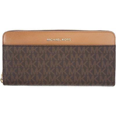 MICHAEL KORS Michael Kors Brieftasche für Damen, Portemonnaie, Geldbörsen, Geldbeutel Günstig im Sale, Braun, Leder, 2017