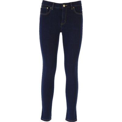 MICHAEL KORS Michael Kors Jeans, Bluejeans, Denim Jeans für Damen Günstig im Sale, Dunkelblau, Baumwolle, 2017, 38 38 40