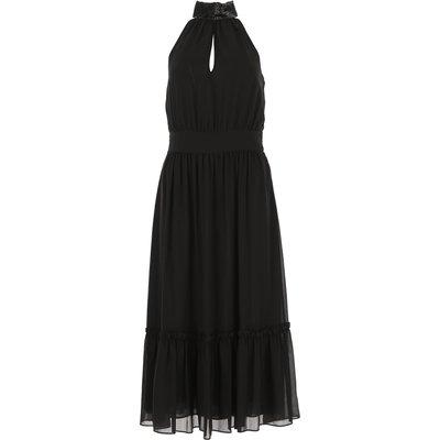 MICHAEL KORS Michael Kors Kleid für Damen Günstig im Sale, Schwarz, Polyester, 2017, 40 44 M